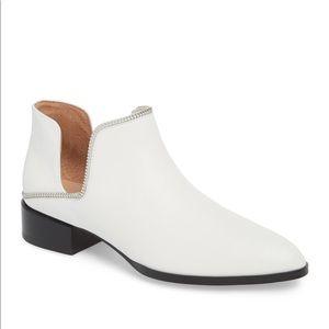 Halogen white booties